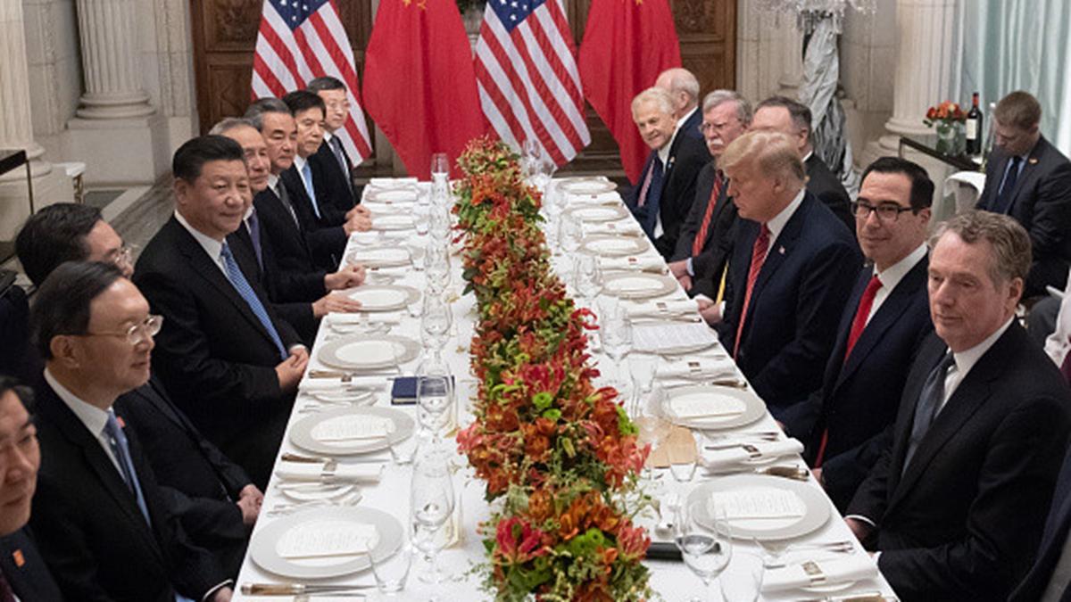 中美貿易戰火重燃後,有不少有識之士出招幫習近平解套。示意圖(SAUL LOEB/AFP/Getty Images)
