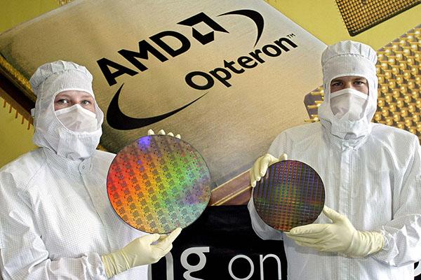 全球第二大晶片製造商AMD未來不再將技術轉移給中國合資夥伴。(AFP)