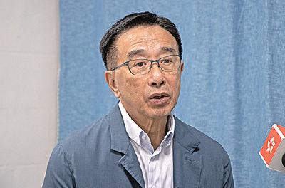 田北俊表示,遊行人多將會給北京帶來壓力,即使通過修例,或不會輕易執行。(蔡雯文/大紀元)