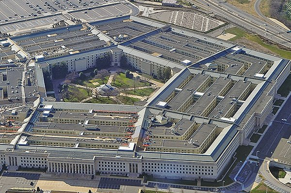 圖為美國國防部五角大樓。(Getty Images)
