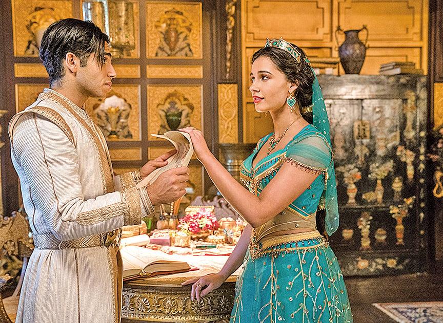 一開始阿拉丁寄望讓精靈把自己變成王子,想以此獲得迎娶茉莉公主的資格。隨後,他面臨是否要坦誠自己並非王子的艱難抉擇。