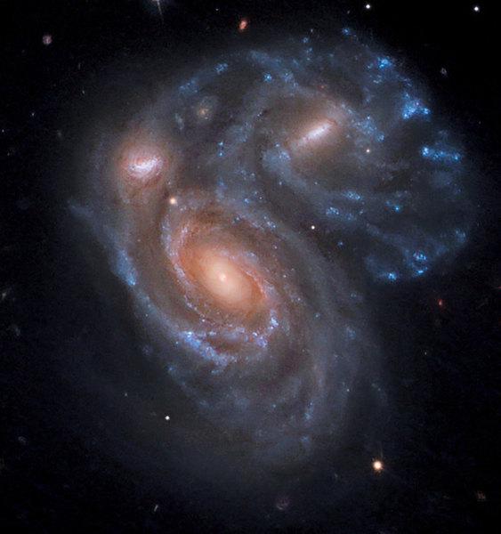 歷史上的災難:銀河系曾經歷猛烈碰撞