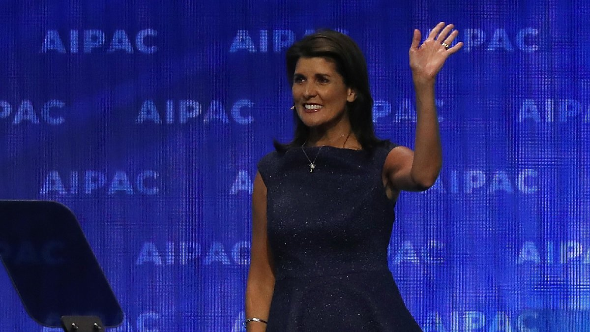 前美國駐聯合國大使黑利(Nikki Haley)。(Mark Wilson/Getty Images)