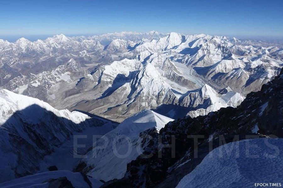 珠穆朗瑪峰的觀景。(公關提供)