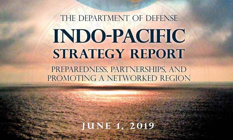 美印太戰略報告:中共破壞國際秩序