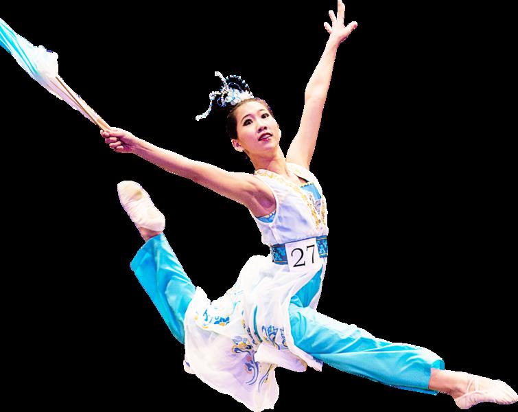 台灣選手 參加中國舞大賽收穫豐