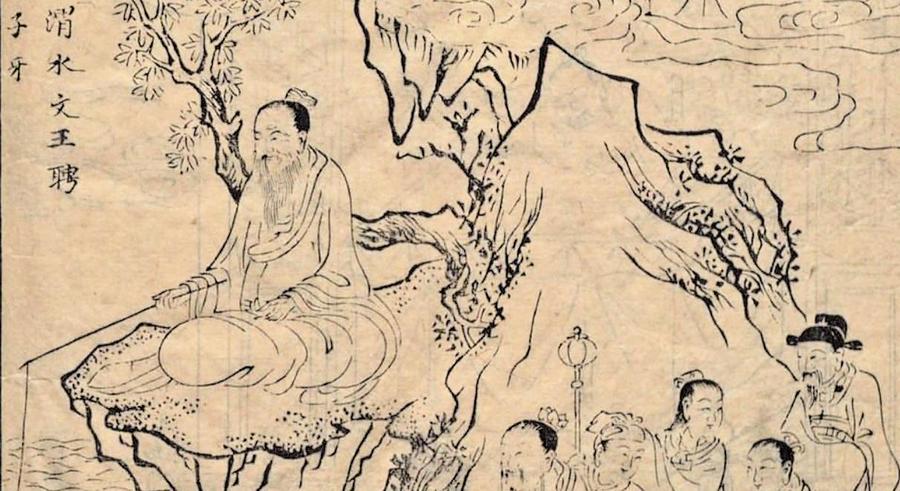 重溫經典《封神演義》: 姜子牙渭水垂竿遇武吉 申時傳兵法