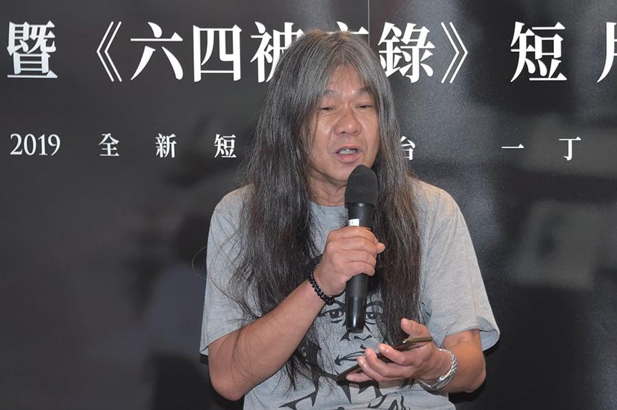 梁國雄呼籲香港人不要害怕,要在中共已轉弱的時候,發揮作用。(郭威利/大紀元)