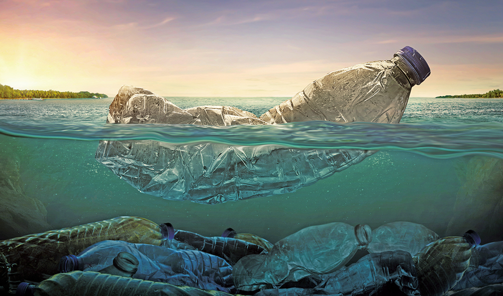 研究:微生物有助降解海洋塑料