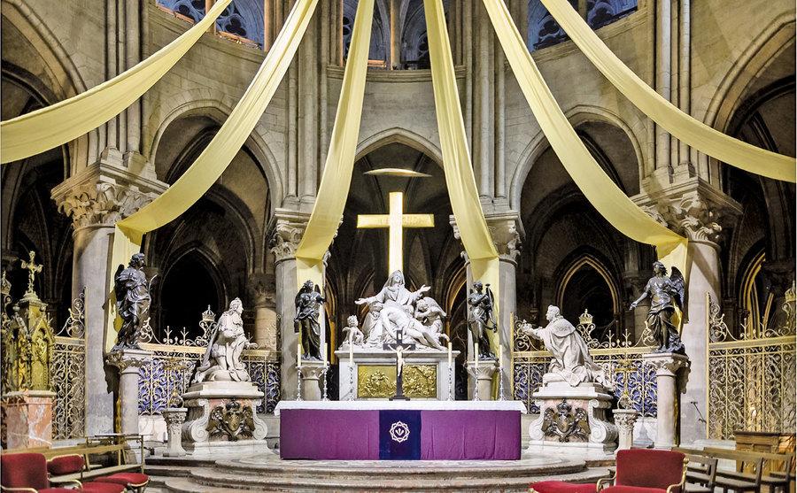 巴黎聖母院建築與雕塑之美(三)