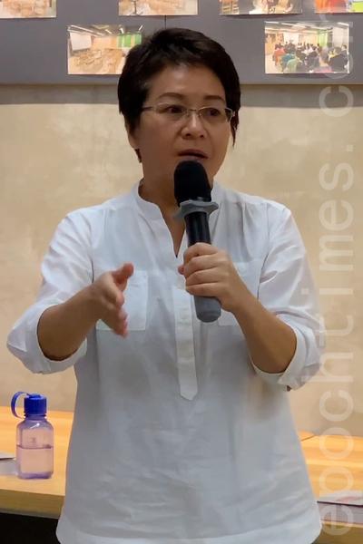 梁慧珉1989年時在《星島晚報》任記者。(李逸/大紀元)