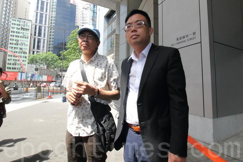 林榮基見警方 中港檢討執法通報機制