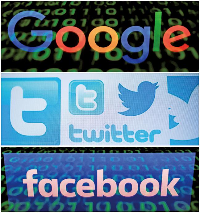 亞馬遜、谷歌、臉書和蘋果公司正受到美國聯邦司法部前所未有的反壟斷調查。(AFP)