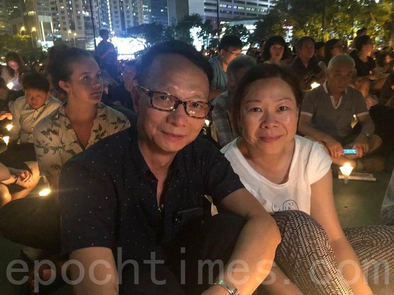 退休夫婦梁先生和太太。(梁珍/大紀元)