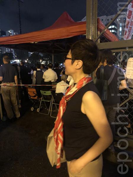 在北京從事藝術工作的王小姐。(梁珍/大紀元)