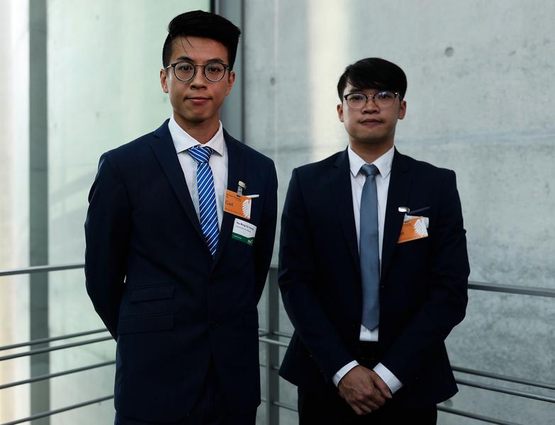 黃台仰李東昇德國出席研討會 批修訂打開中港法律防火牆