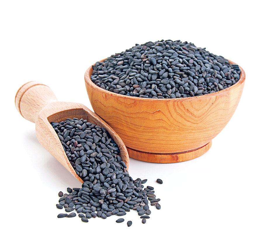 黑芝麻性味甘、平,可以健胃補腎。