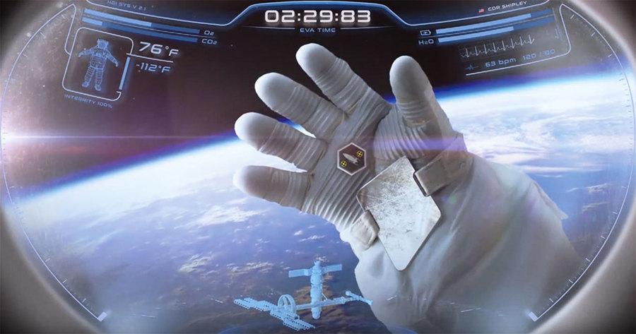 新一代宇航服將使用科幻式頭盔