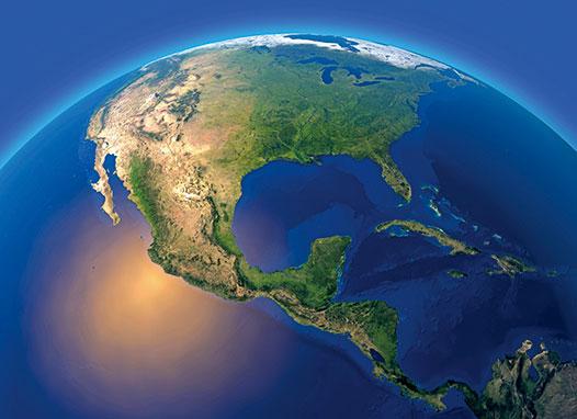 一份新研究顯示,在過去1.5億年來海水緩慢持續地流進地球內部。(Shutter Stock)