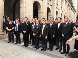 【直播】法律界黑衣遊行反對逃犯條例修訂