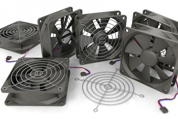 以色列科學家證實,惡意軟件可偷竊離線電腦的資料,並透過控制風扇的轉速以聲音訊號將其傳輸出去。圖為電腦的風扇。(維基百科)
