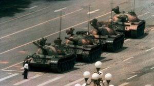 六四坦克人失蹤前 留下完整錄像(影片)