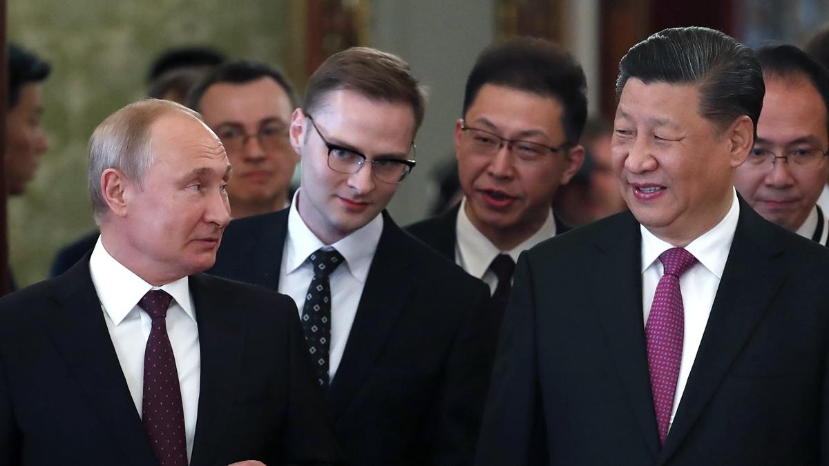 習近平已經結束為期三天的俄羅斯訪問之行,期間發生一些小插曲。示意圖(MAXIM SHIPENKOV/AFP/Getty Images)
