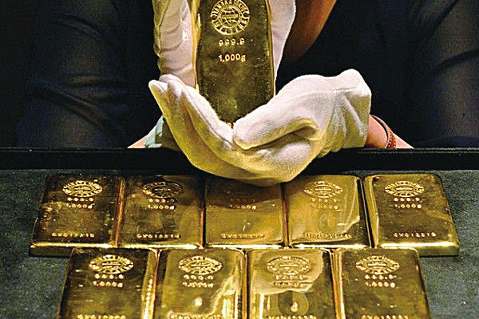 今年5月份,香港向大陸出售的黃金總量大約121.71噸。(大紀元資料圖片)