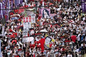外媒記者絞盡腦汁 形容香港空前規模大遊行(影片)