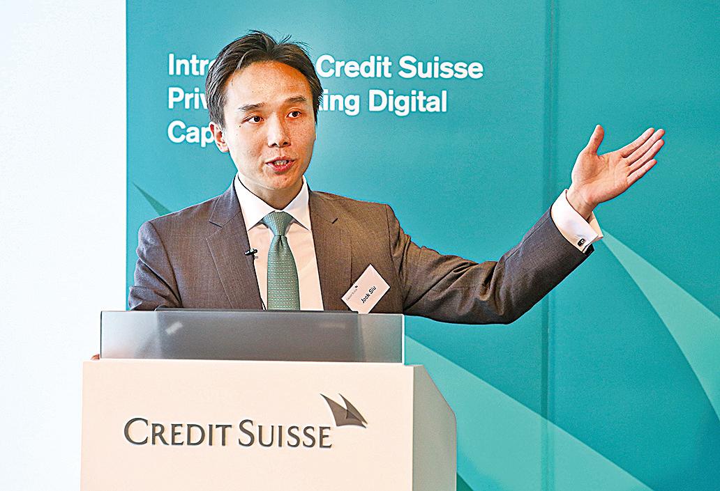 瑞信亞太區投資策略師邵志銘,恒生指數未來3個月目標為18,500點。(余鋼/大紀元)