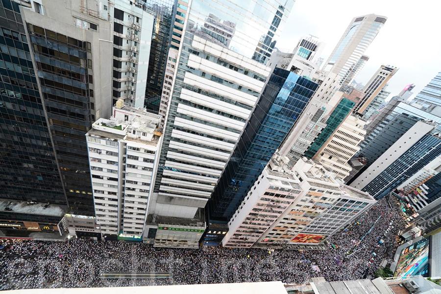 【直播】【6.9反送中】香港反送中大遊行