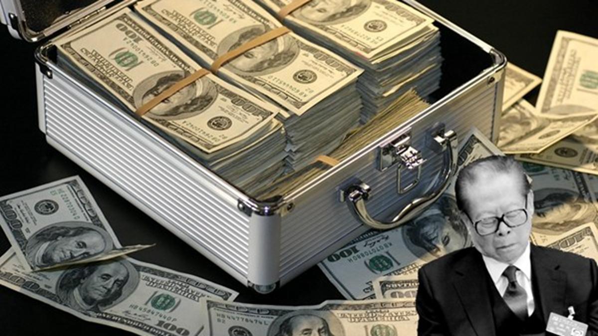 今年4月,在美國的大陸富豪郭文貴爆料,江澤民的長孫江志成至少擁有5000億美元資產,江澤民家族在海外控制的財富至少1萬億美元。江家居世界隱形首富,富可敵國。(新唐人合成圖)
