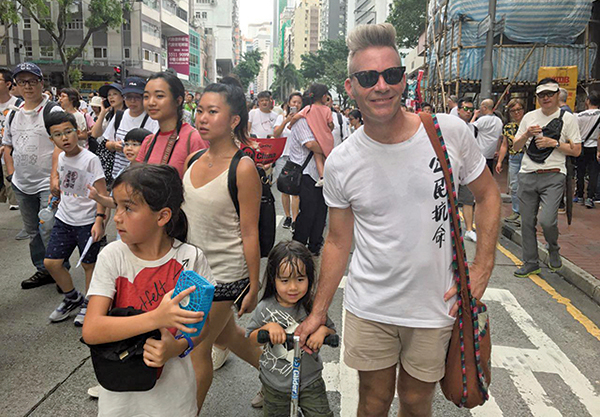 外籍香港人:守護我城 抵抗共產黨侵蝕