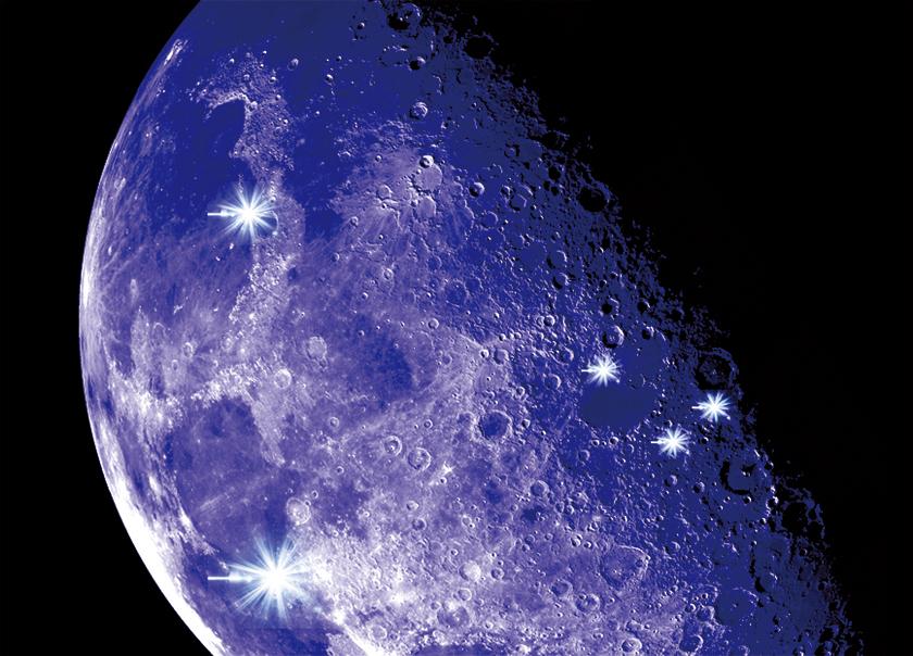 月球現頻繁閃光科學家不知何故