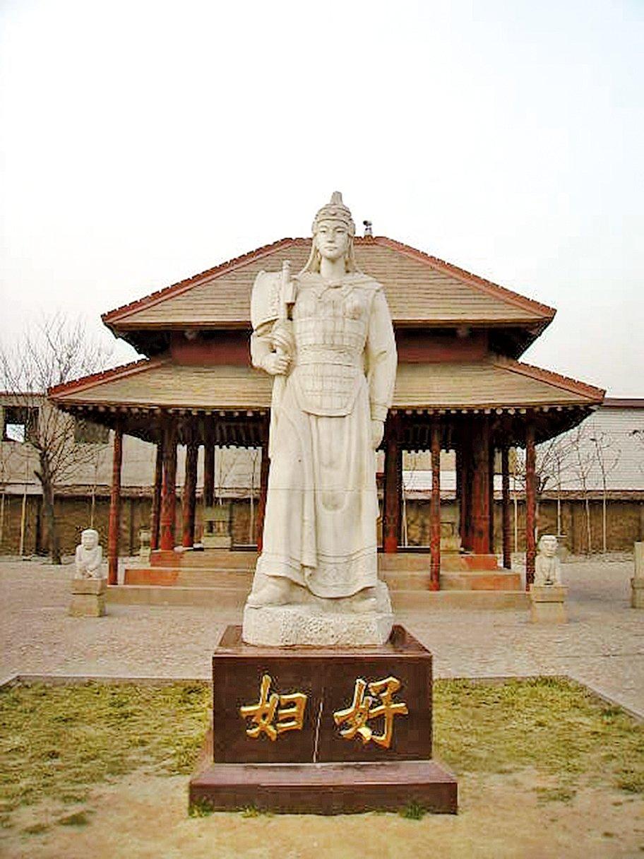 殷墟婦好雕像(維基百科)