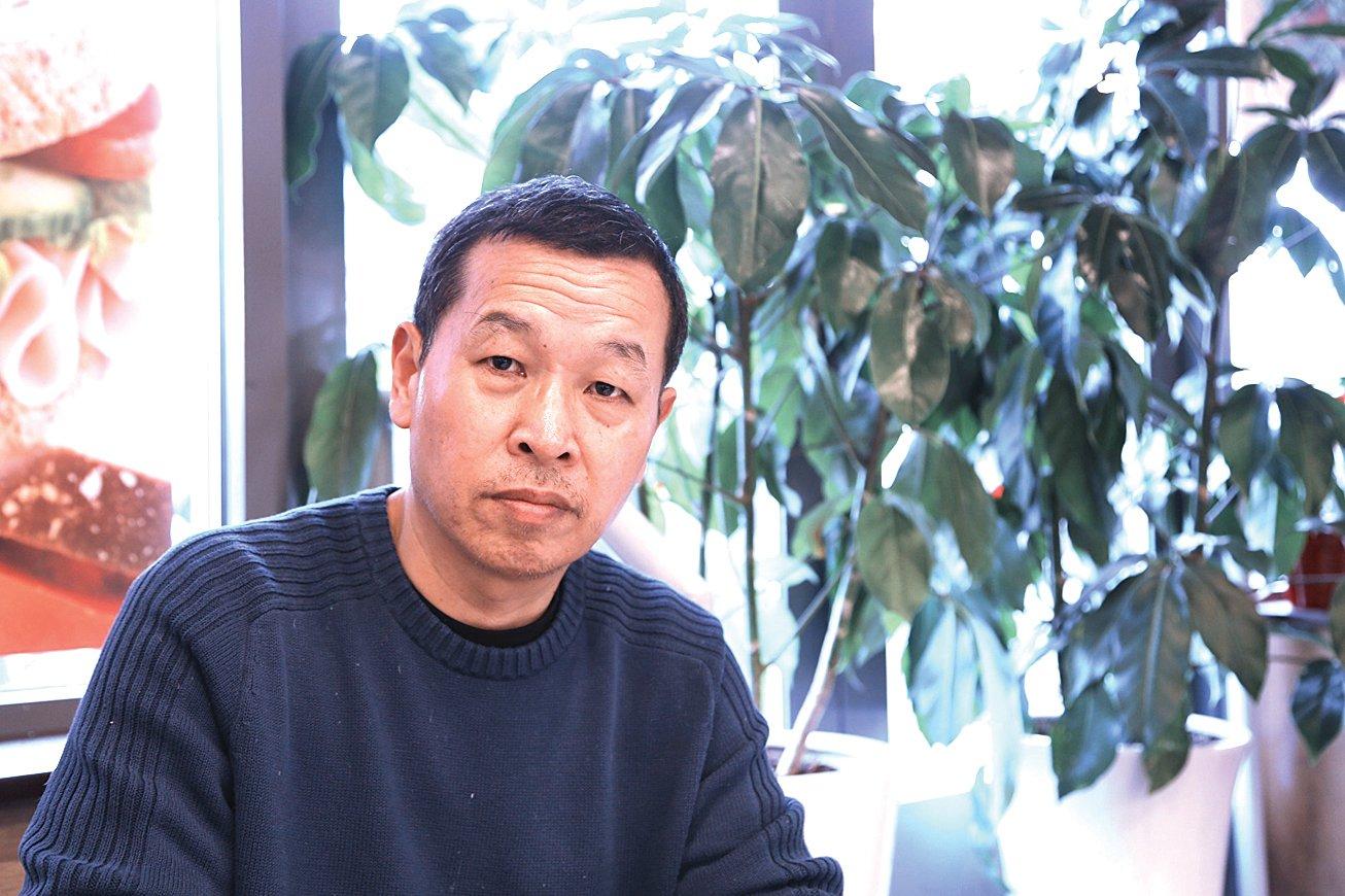 前中共海軍中校參謀姚誠。(施萍/大紀元)