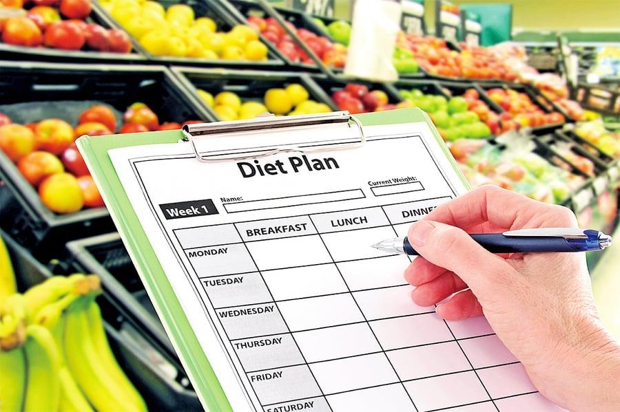 選對水果蔬菜  減肥瘦身事半功倍