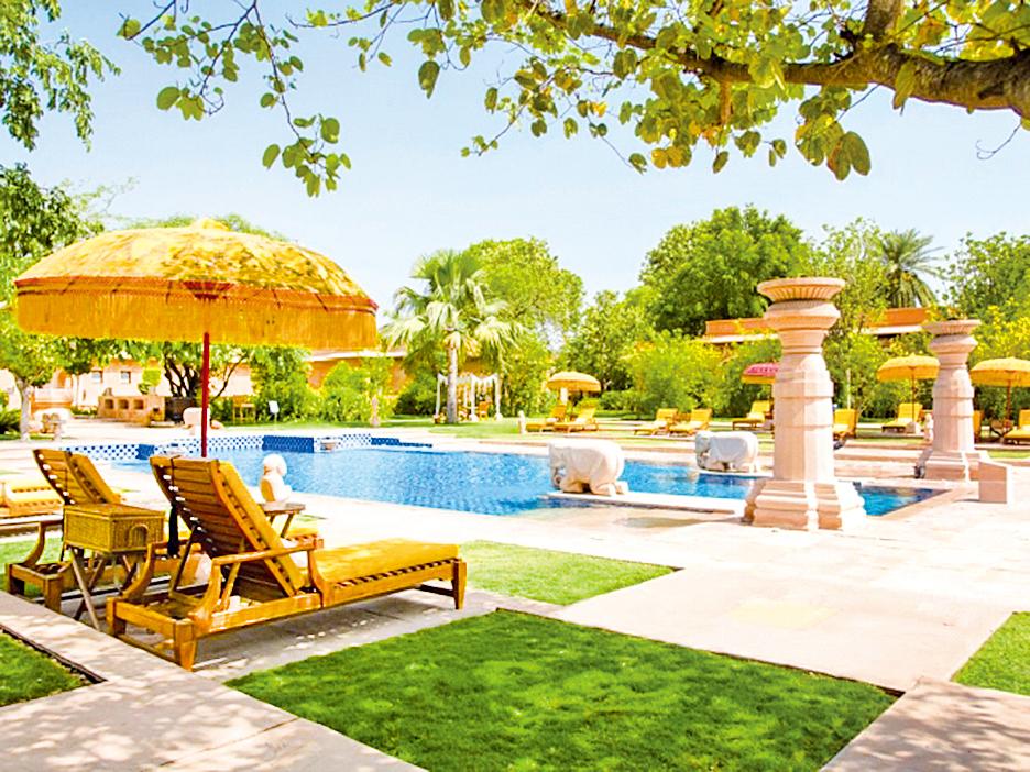 北印度倫塔波爾 歐貝羅伊灣雅維拉斯然塞姆博酒店。