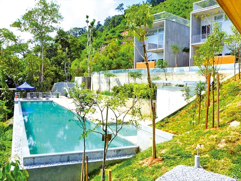 馬來西亞亞庇 貝魯姆雨林度假村。