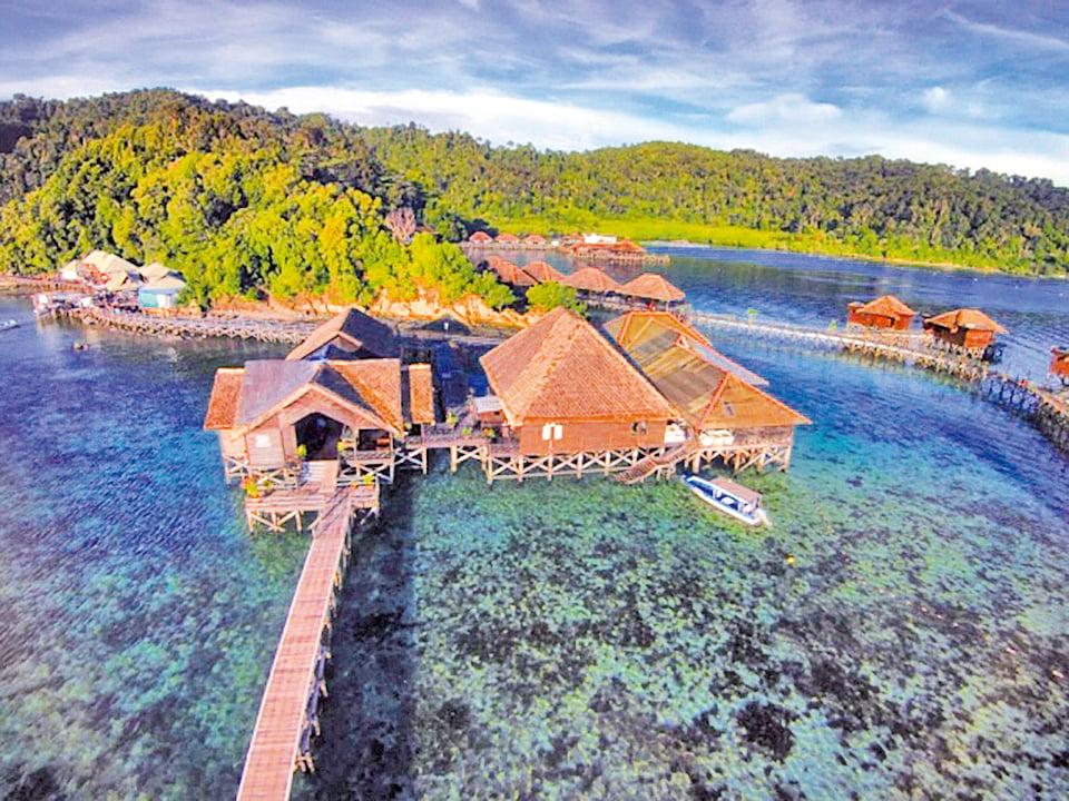 馬來西亞亞庇 加亞娜海洋度假村。