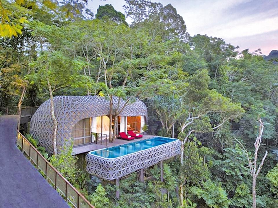 泰國布吉島 基馬拉度假村的帳棚別墅。