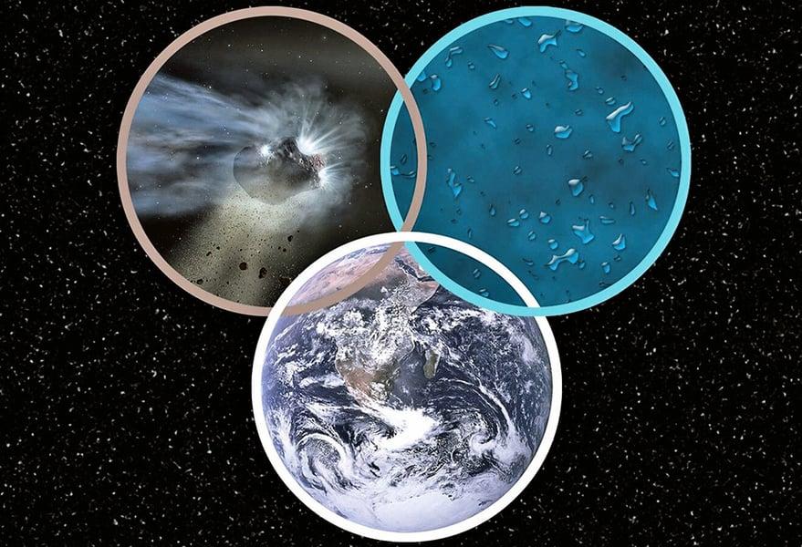 新研究:海水或來自外太空