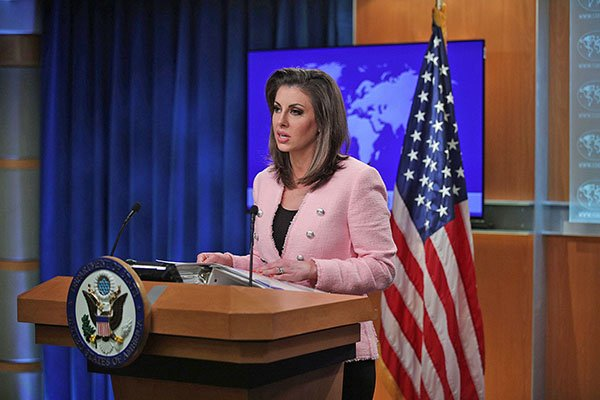 美國國務院發言人奧塔古斯指逃犯條例修訂將長期以來香港在國際事務的特殊地位置於風險之中。(Getty Images)