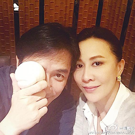 54歲梁朝偉俏皮慶生 與太太劉嘉玲曬恩愛