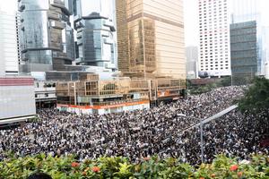 【反送中】中共封網 大陸高級專家赴港關注局勢