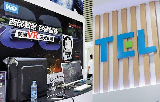 6月11日,美企西數公司(WD)決定與華為「分手」。同一天,東京威力科創(Tokyo Electron)確認對被列入美方黑名單的中企斷供。(大紀元資料室/AFP)