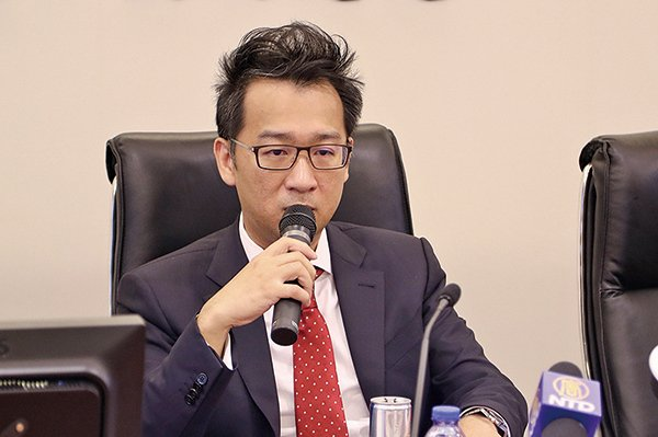 交銀國際總經理兼首席策略師洪灝。(新唐人)