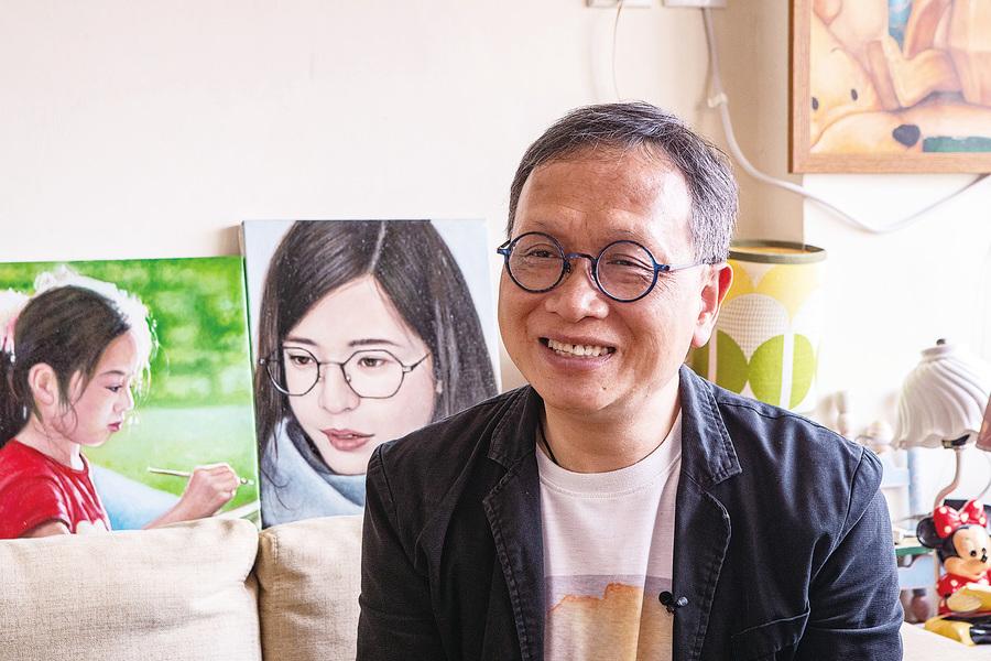 堅持寫實人物油畫 劉遠章在油畫大賽中找到共鳴