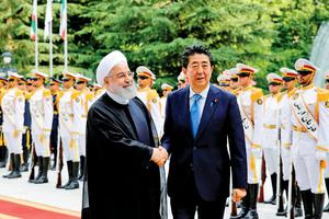 安倍:伊朗須扮演建設性角色
