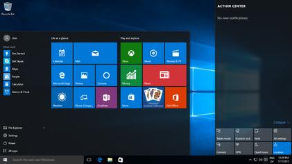 Windows 10免費升級。(Wiki Commons)